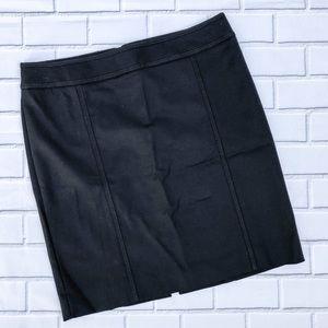 NWT White House Black Market Black Mini Skirt
